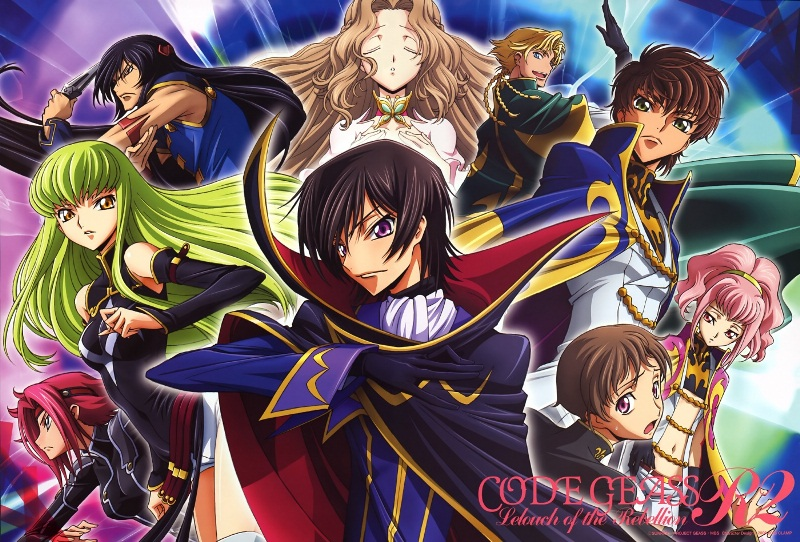 Code Geass: Hangyaku No Lelouch R2 - Code Geass: Lelouch of the Rebellion R2 [BD]